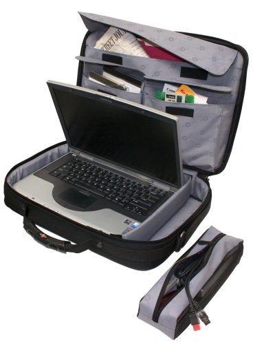 Wenger Yukon Single Gusset 43,2 cm (17 Zoll) Notebooktasche, schwarz