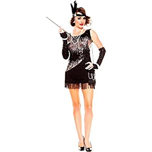 2c03a81cd96 Adult Flapper Costumes  1920s Halloween Costume Idea - Funtober