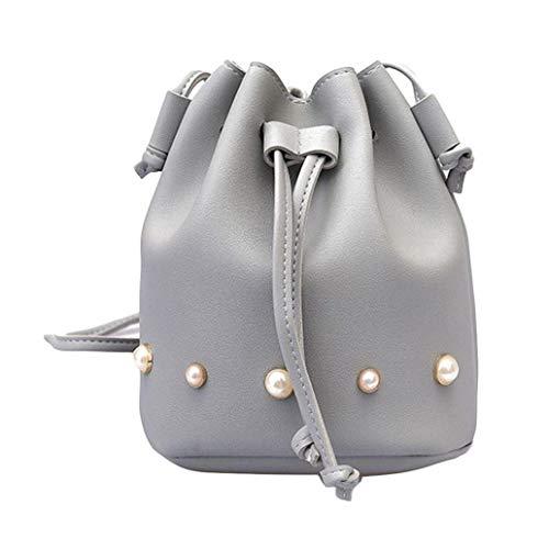 Dimensione borse di Colore capacità colore borsa Gray moda di ragazze tracolla tracolla borsa Gray tracolla Messenger grande tracolla Borsa Light singola solido donna Messenger a a a Light secchi q0vIwF