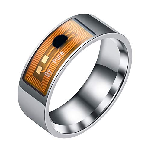 Fashion Rings&Waterproof Multifunctional NFC Intelligent Digital Smart Ring for Android Window