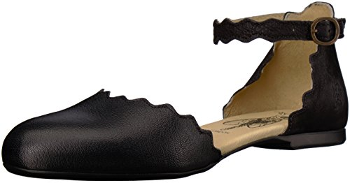Black Womens Mousse London Mary FLY Flat Jane MEGS210FLY Cupido pYq01