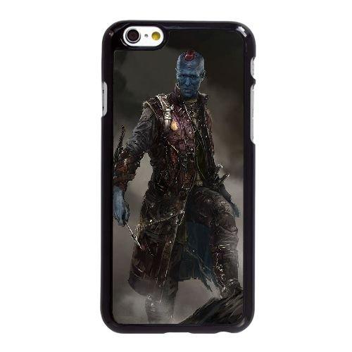 I7C70 Gardiens de la Galaxie V8G8EI coque iPhone 6 Plus de 5,5 pouces cas de couverture de téléphone portable coque noire DG4MVN1LH
