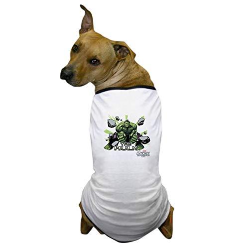 CafePress Hulk Slam Dog T Shirt Dog T-Shirt, Pet Clothing, Funny Dog Costume ()