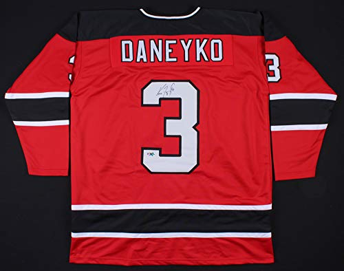 (JEM Sports Memorabilia Ken Daneyko Signed Devils Replica Jersey (First Class Autographs COA))
