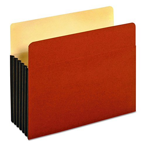 Globe-Weis/Pendaflex Tyvek File Pockets, 5.25-Inch Expansion, Letter Size, Brown, 10-Count ()
