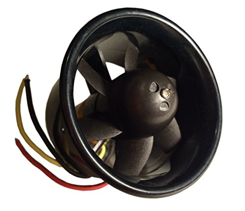 55mm Duct Fan Unit with 3500KV Brushless Outrunner Motor for EDF RC Jet Aircraft