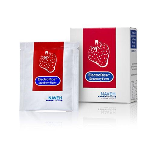 ElectroRice Strawberry Anti Diarrhea - Rehydration Solution Natural Electrolytes