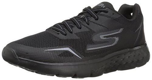 Skechers Performance Men's Go Run 400 Running Shoe, Black/Black, 11 M US