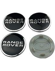 4 Delige Naafdoppen 3D Aluminium Naafdoppen Auto-onderdelen voor Land Rover Range Rover