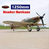 DYNAM RC Airplane Hawker Hurricane 1250mm Wingspan - SRTF