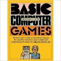 BASIC Computer Games: Microcomputer Edition