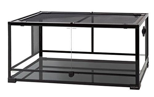 Jual Reptizoo Reptile Glass Terrarium Double Hinge Door With Screen