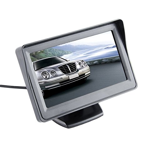 Car Monitor Parking Display 4.3 Inch TFT LCD Color Rear View Screen Desktop SINOVCLE