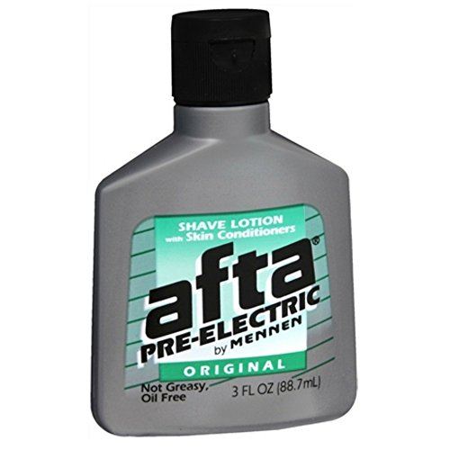 Afta Pre-Electric Shave Lotion With Skin Conditioners Original 3 oz (Pack of 3) (Pre Electric Lotion)