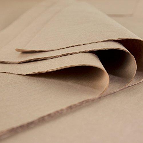 18/gramos 24/hojas de 50/cm x 75/cm Fabrique en Francia Hojas de papel de seda Premium Moka