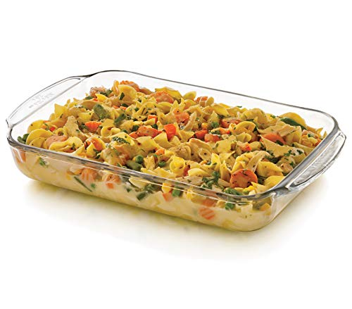 s Glass Casserole Baking Dish, 9-inch by 12-inch ()
