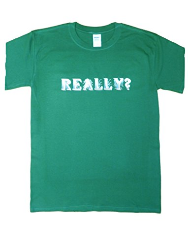 Really Cotton T Shirt in Forest Green (Medium (38/40)