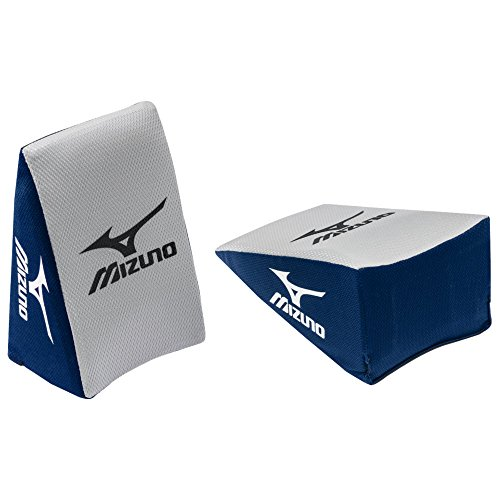 Mizuno Catcher's Knee Wedge Baseball or Softball, Small, Navy/Grey by Mizuno
