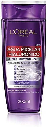 Água Micelar com ativo Hialurônico, 200ml, L'Oréal P