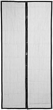 Verano magnético anti mosquitos puerta anti mosquitos mosquitera mosquitera puerta cierra automáticamente la pantalla de la puerta A1 W100xH210
