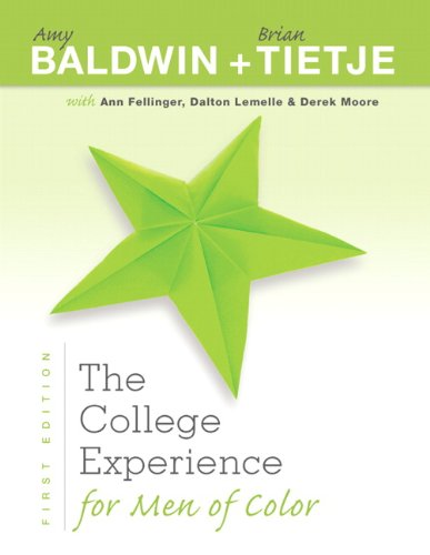 The College Experience for Men of Color (Experience Franchise)