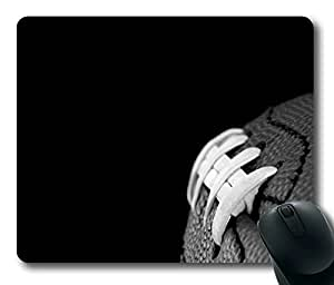 American Football Soccer Ball Masterpiece Limited Design Oblong Mouse Pad by Cases & Mousepads