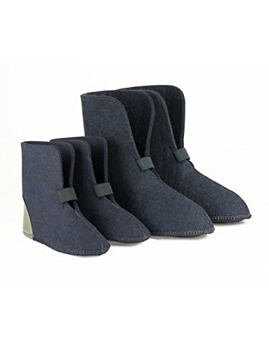 BOOT LINERS 624 BLUE-10 SIZE 4