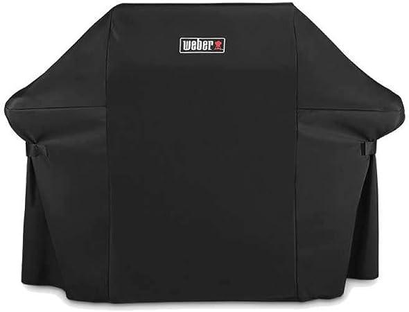 15.9 x 22.7 x 3.8 cm, schwarz Weber Abdeckhaube Premium für Genesis 300 Serie