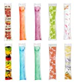 yogurt sleeves - 160pcs Popsicle Bags Zip-Top Ice Pop Pouch Disposable Ice Popsicle Mold Bags Ice Pop Sleeves Freezer Pop Bags Freezer Tubes With Zip Seals for Yogurt Sticks, Ice Candy or Freeze Pops