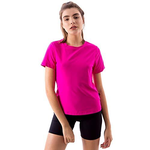 9ab30f9afb Camiseta Básica Dry-Fit Íon Fitness Rosa ...