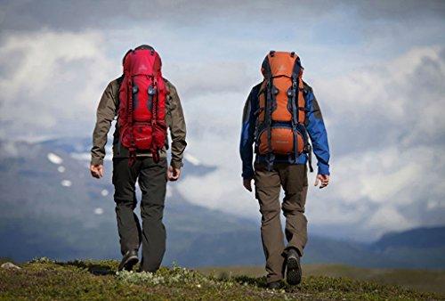 zaino trekking Maschio / Femmina 60L / 70L Escursionismo spalla esterna sacchetto di svago di sport sacchetto di alpinismo Zaini da escursionismo ( Colore : 4 , dimensioni : 70L-25*30*83cm )