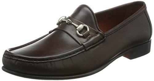 Allen Edmonds Men's Verona II Loafer,Brown,8.5 3E US