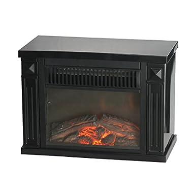 Comfort Glow Mini Hearth, Black, 4,100 BTU- EMF161