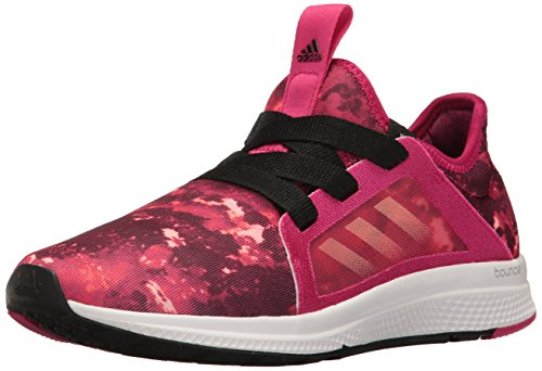 adidas Performance mujer borde Lux W Running Shoe Bold Pink/Haze Coral/Black