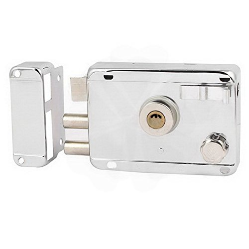 Latches 150mm Long Rectangle Shape Cylinder Deadbolt Spring Latch Right Hand Rim Lock By Houseuse by Houseuse (Image #1)