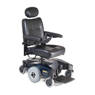 Pronto M51 Power Wheelchair with Captain's Base Seat Size: 20
