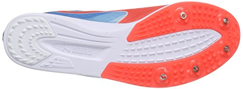 Puma Evospeed Distance V6 - Zapatillas de Entrenamiento Hombre Blanco - Weiß (white-atomic blue-red blast 01)