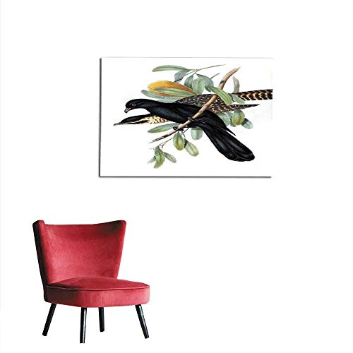 homehot Wall Paper Illustration of Birds Mural 48