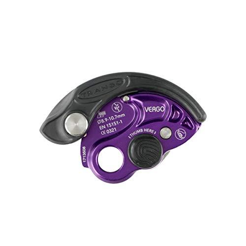 TRANGO Vergo Rock Climbing Belay Device, Purple