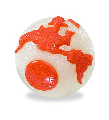 Planet Dog Orbee Ball, Planet Ball, Durable Chew-Fetch Dog Ball, Tough, Made in the USA, Large 4