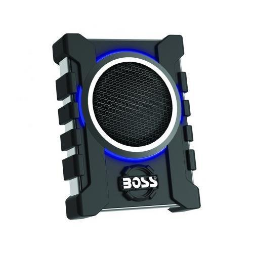 Boss Audio BASS13003 Boss 8'' Low Profile Amplified Subwoofer, Remote Subwoofer Level Control by BOSS Audio