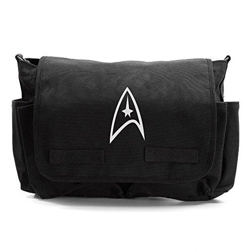 Star Trek Federation Army Heavyweight Canvas Messenger Bag