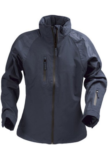 Premium Quality Womens Wind and Waterproof Winter Sports Shell Jacket with Detachable Hood Navy
