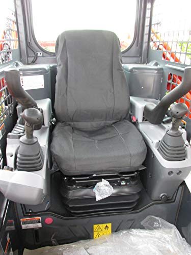 Durafit Seat Covers, Seat Covers for High Back Suspension Seats in Equipment,Trucks, Skid loaders and Excavators.