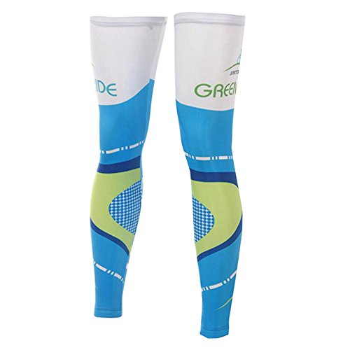 George Jimmy UPF 50+ Cycling/Hiking/Running/Basketball/Golf/Fishing Leg Sleeves XXL-04 by George Jimmy