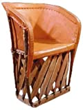 Reustic Leathe Chair ''Equipale''