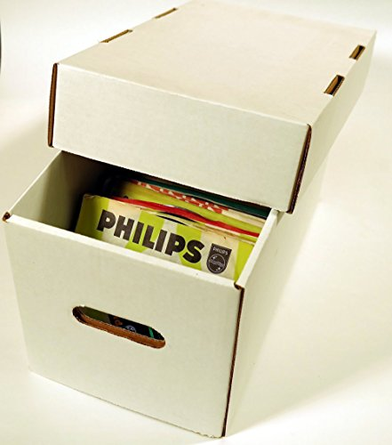 Diskeeper Ultimate 7 Inch Record Storage Box by Sleeve City