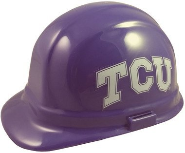 Texas Christian University Horned Frogs - Wincraft NCAA College Ratchet Suspension Hardhats - Texas Christian University Horned Frogs Hard Hats