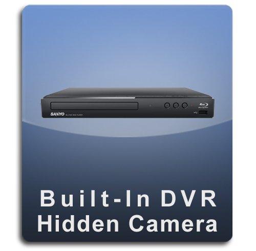 PalmVID DVR PRO DVD Blu Ray Player Hidden Camera with Built-in DVR (Dvd Player Hidden Camera)