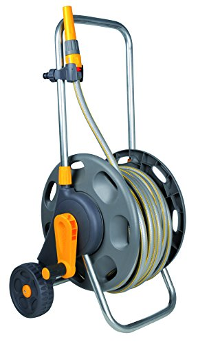 Hozelock 60m Assembled Hose Cart with 50m Hose